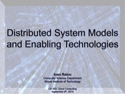 2. Distributed System Models and Enabling Technologies