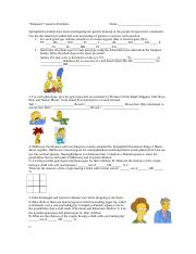 Bio Genetics Problems Misc Pdf Simpsons Genetic Probability Worksheet There Are Six Punnett Square Problems Featured Below You Will Be Graded On Course Hero