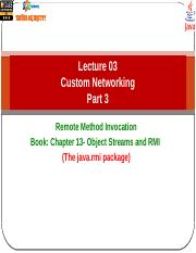 Slot14-CustomNetworking-RMI