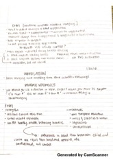 Reverse Inference Notes