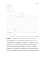 """nell nature vs nurture essay Nell do you like this text sample we can make your essay even better one  in  this particular case, """"nature versus nurture"""" (haaland, & schaefer, 2009) plays."""