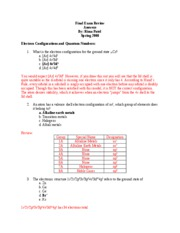 Mock Final Exam ANSWERS S2008