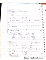 Notes on Magnetism