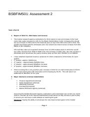Assignment 2 - Manage budgets.docx
