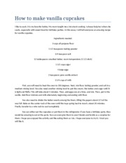 compare contrast essay revised amp quot concha amp quot is 1 pages how to make vanilla cupcakes final