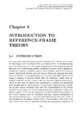 Introduction to Reference-Frame Theory
