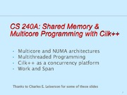 cs240a-multicore