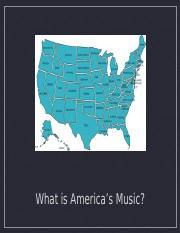 World Music American Music Powerpoint Fall 2017.ppt