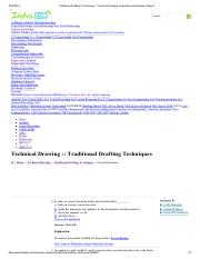 Traditional Drafting Techniques - Technical Drawing Questions and Answers Page 2.pdf