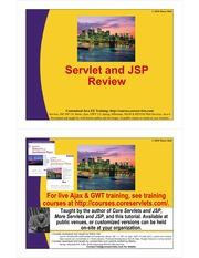 00-Servlet and JSP Review