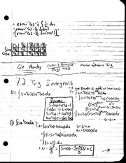 MAT 241 - Notes 7.2 Trig Intervals