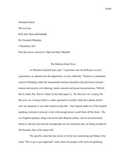 ElisabethOrloff-Final Essay- Pos360