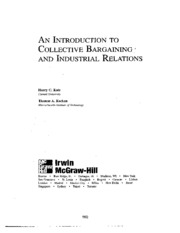 Katz_and_Kochan-An_Introduction_to_Collective_Bargaining-Chapter_9-Dispute_Resolution_Procedures