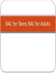 BAC for Teens BAC for Adults.pptx