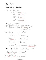 PHYS 12 Scientific Notation Notes