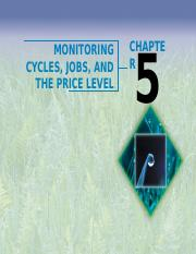 Ch05 Monetring Cycles jobs and Price Level.ppt