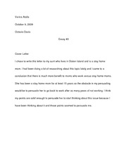 Essay #3 first draft
