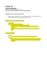 Chapter 25-muscle relaxants .docx