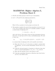 Group Theory Algebra problem set 6 11.41.52 PM