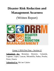 Disaster Risk Reduction and Management Awarness.docx