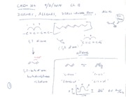 2014-09-02 CHEM 322 Lecture Notes and Quiz Blank and Key