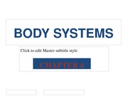 BodySystems Part -2