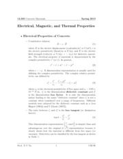 CM_LectureNote_09_Electrical magnetic and thermal properties