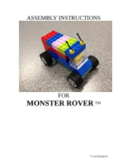 Assembly Instructions for Monster Rover