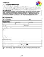 Support Staff Application Form.doc