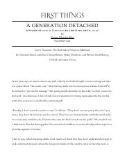 Naomi Schaefer Riley - A Generation Detached - First Things.pdf