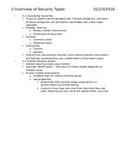 Chapter 3 reading notes