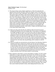an essay on the deerslayer by james fenimore cooper James fenimore cooper & the leatherstocking tales  instructor's note: twain's  essay is amusing as satire but reflects critical values of realism that  in one  place in deerslayer, and in the restricted space of two-thirds of a page, cooper  has.