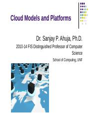 CloudModelsandPlatforms