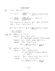 Chap 10 Solutions