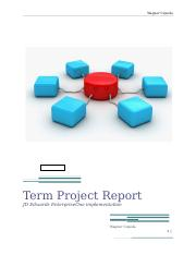 ERP SYSTEMS PROJECT