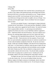 the million dollar throw essay