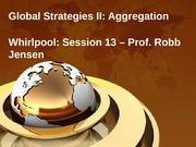 13 - Global Strategies II, Aggregation, Win11