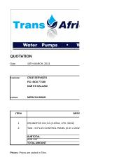 CRJE_UDSM_Quotation for the supply of a booster pump1.pdf.xlsx