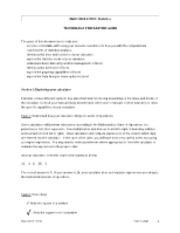 Math10800 technology worksheet