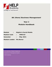 5MK510-Module Handbook May 2021 - For Students.docx