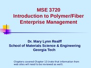 MSE3720-YarnManufacturing