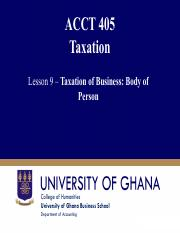 Lesson 9 Taxation of Business Income-Body of Person.pdf