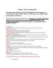 CIS3390_Chapter07_Key Learning Points(1)