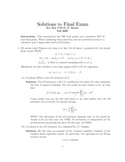 final 1 solutions