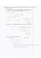 Interval Notation Quiz Review Worksheet