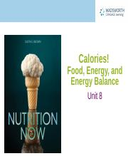 FCS 135 NUTR NOW CHAP 8 ENERCAL