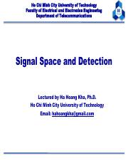 DC04-Signal Space and Detection