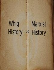Marxist Whig Power Point (2).pptx