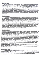 Birth Order and its Effects Note