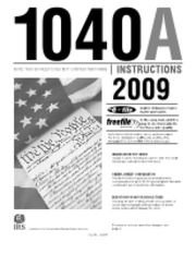 Form 1040A Instructions (1)